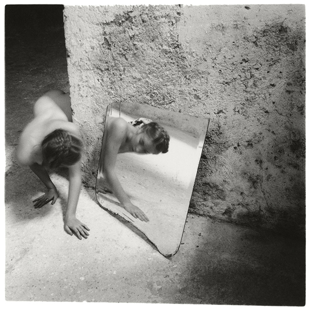 Francesca Woodman Self deceit 1 Rome Italy 1978 C Betty and George Woodman