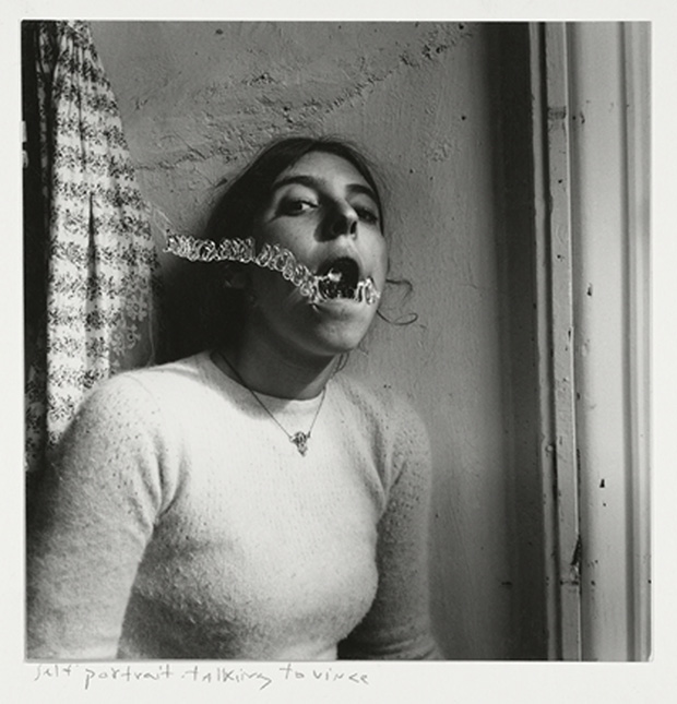 Francesca Woodman Self-portrait talking to Vince Providence Rhode Island 1977 C George and Betty Woodman