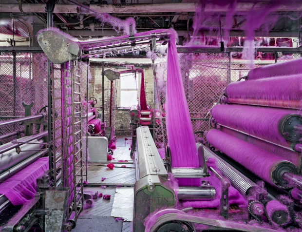 A Mesmerizing Look Inside America's Textile Factories and Mills