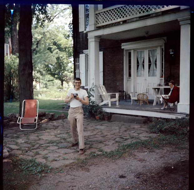 Del Holmes, circa 1954