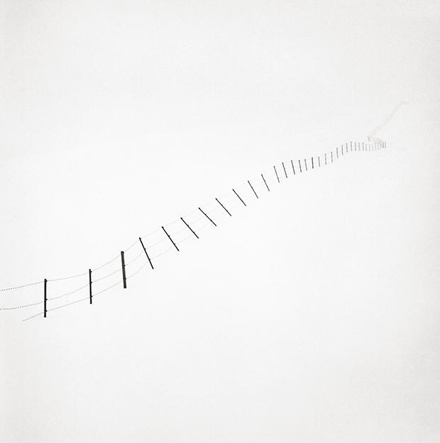 Hillside Fence, Study 6, Teshikaga, Hokkaido, 2007, 2