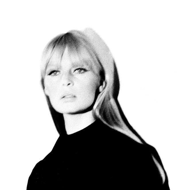 Nico #2 (white background), 1967