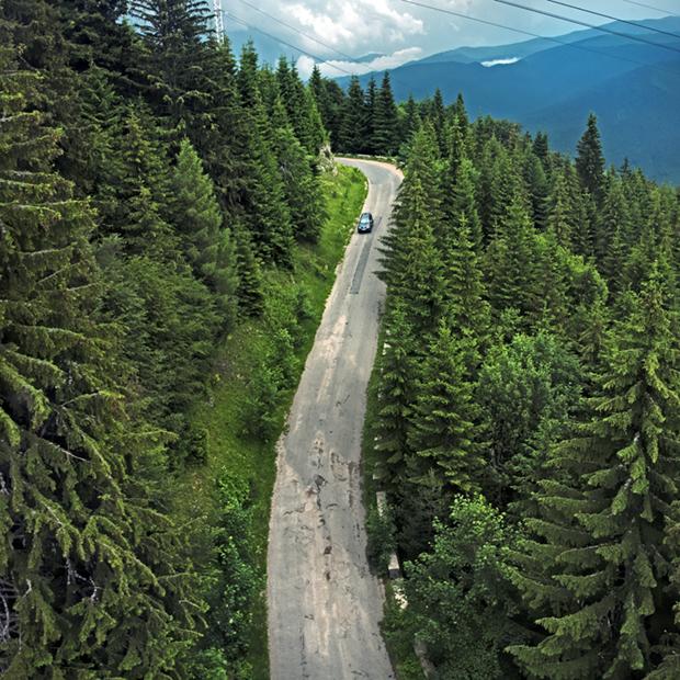 Transylvanian Road
