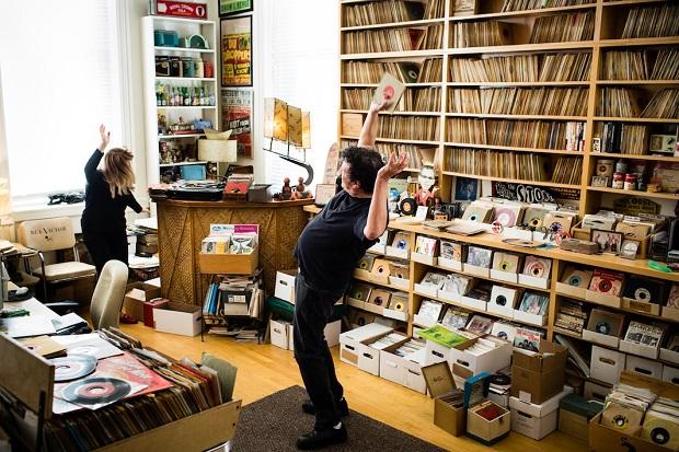 Miriam Lina & Billy Miller - Norton Records. Brooklyn, NY