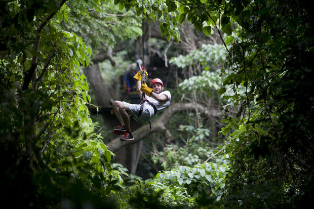 Tourist Zip-Lines in Dominican Republic