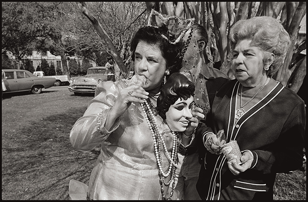 USA. New Orleans, Louisiana. 1975. Mardi Gras.