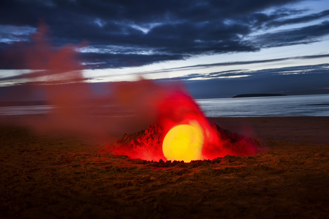 Smoke and Laser Beams Transform Remote Landscapes - Feature Shoot