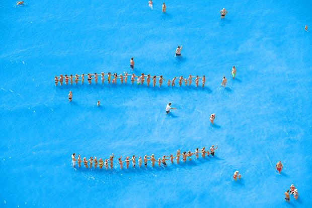 14 - Adriatic Sea (staged) Dancing People 2015-LR