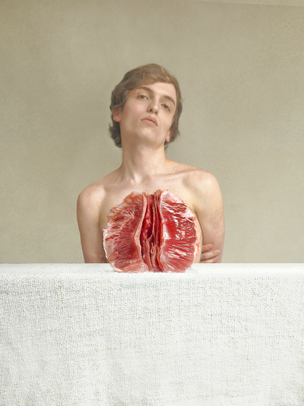 Poetic Nudes Compare the Human Body to Fresh Fruit