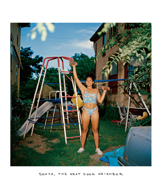 Sonia_the-next-dorr-neighbor From the series, Family 1987-2016