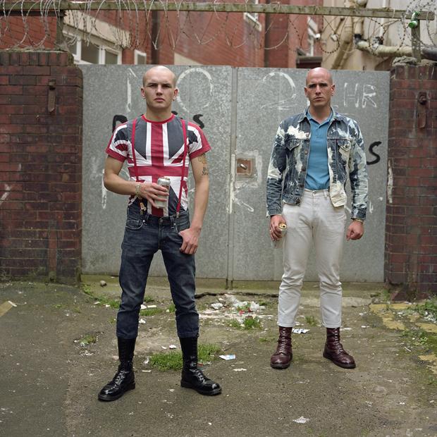 bold portraits document skinhead culture in the uk