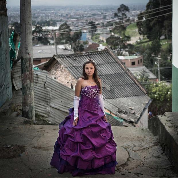 Quinceaneras, Colombia_OK © Delphine Bedel