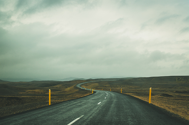 Driving Through the Magnificent Landscape of Iceland