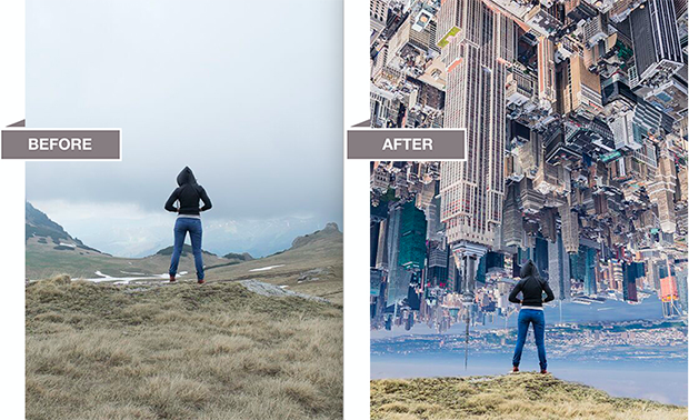 how to make a composite image in lightroom