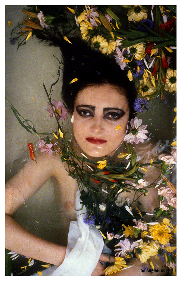 Siouxsie Sioux of The Creatures, photo session for the EP 'Wild Things', 1981