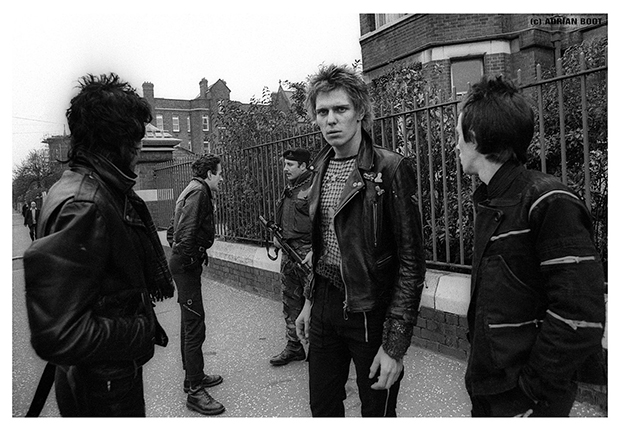 The Clash in Belfast, 1977