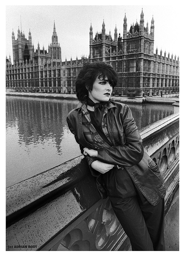 Siouxsie Sioux, Westminster photosession,1980