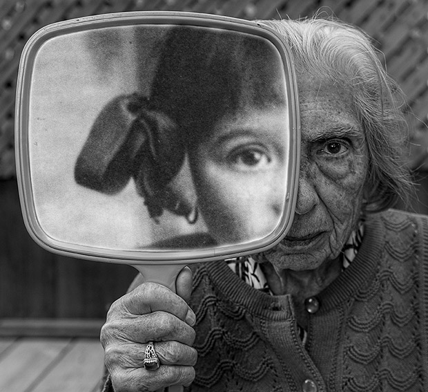 91-Year-Old Woman Embraces Life in Profound and Playful Images