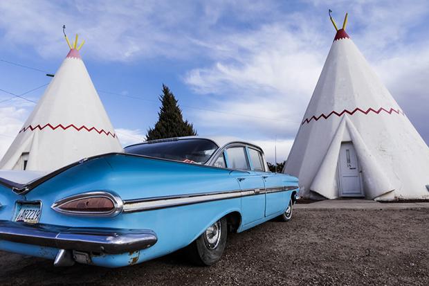 Holbrook,Arizona, United States. Route 66.