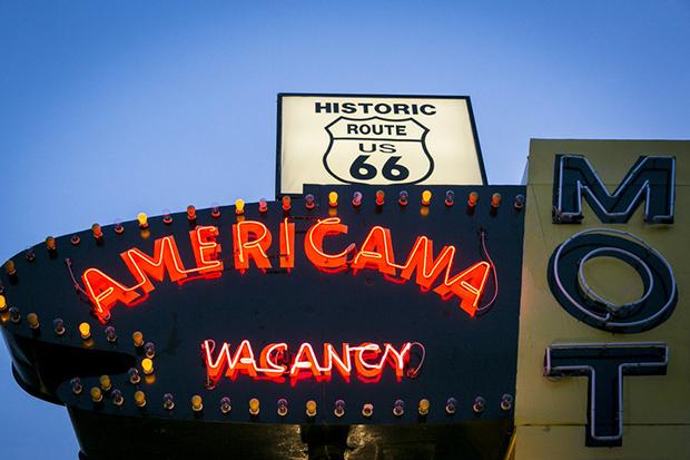 Tucumcari, New Mexico, USA. Route 66