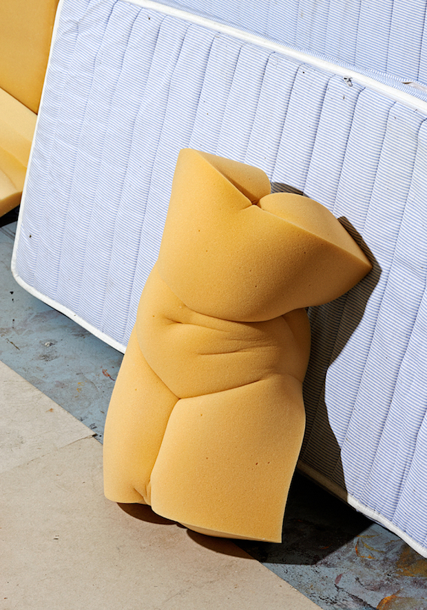 Marvel at Fleshy Nudes Made Out of Foam