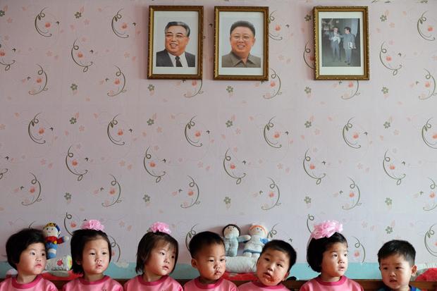A rare look at daily life in North Korea
