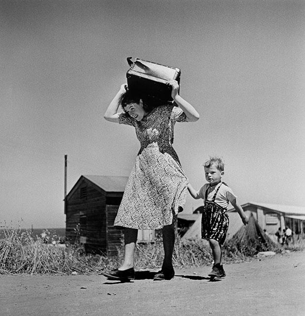 ISRAEL. Haifa. 1949-50. Arriving immigrants.