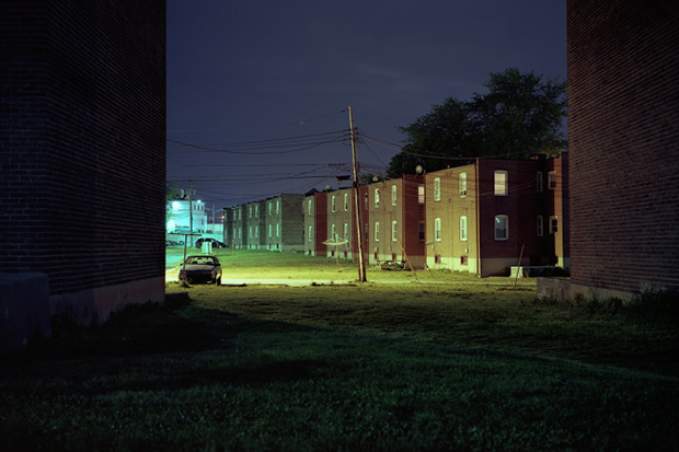 Loneliness and Nightfall in the Baltimore Streets - Feature Shoot