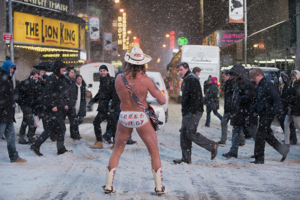 Confessions of the Trump-Supporting, Fun-Loving Naked Cowboy - Feature Shoot