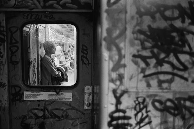 Woman in Next Car, NYC c. 1987 © Richard Sandler / The Eyes of the City