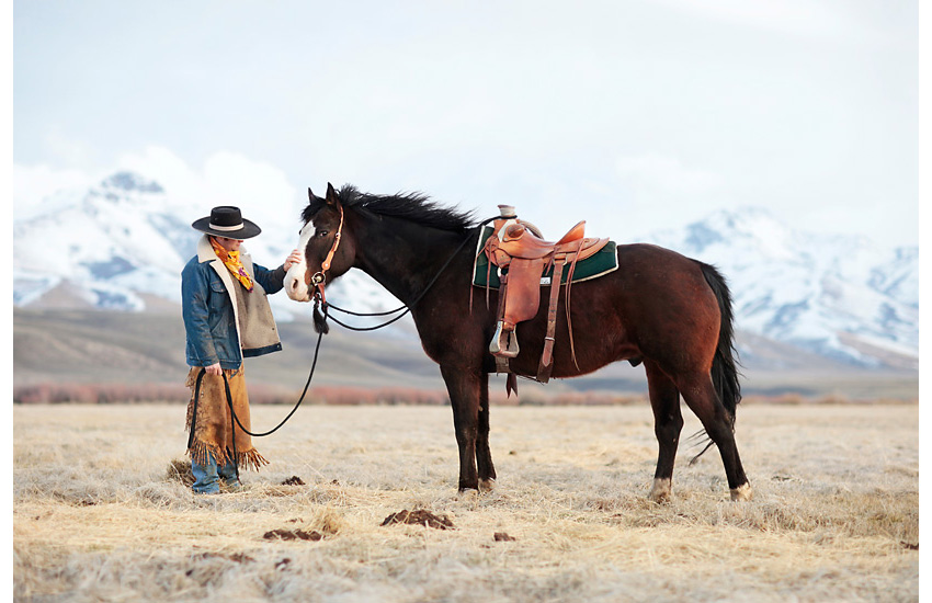 The Movie Set World of Real Life Cowboys