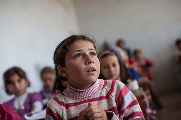 Schools reopen in Idlib