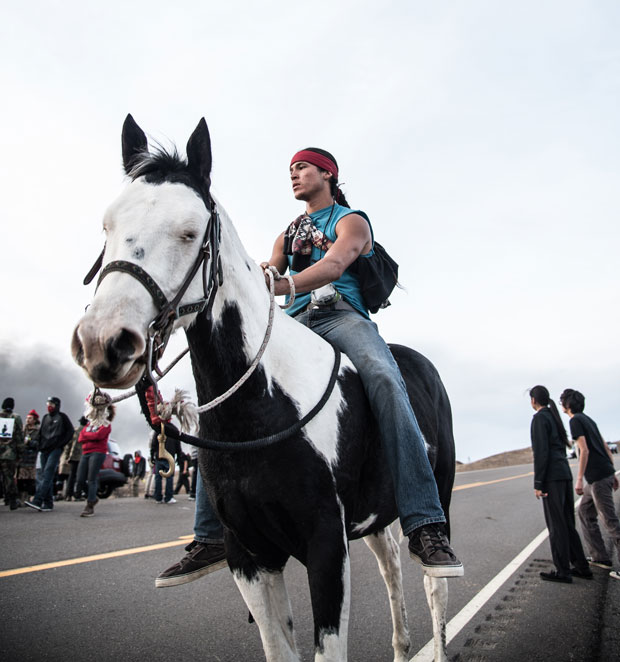 The Frontline at Standing Rock, in Photos