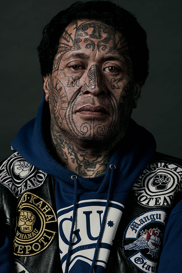 Portraits Depict Life In A Powerful New Zealand Gang
