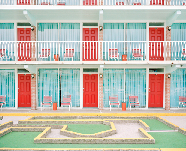 Wistful Photos of the Wildwood Motels on the Off-Season - Feature Shoot