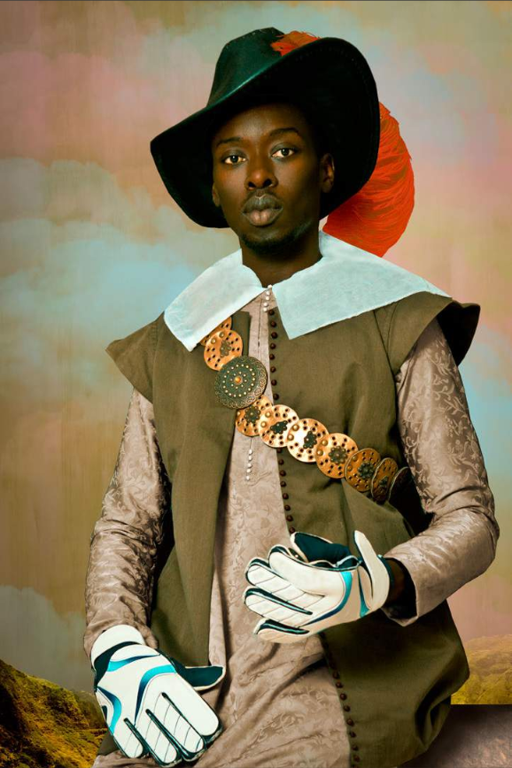 Self Portraits by Senegalese Photographer Omar Victor Diop Recreate Historic Paintings