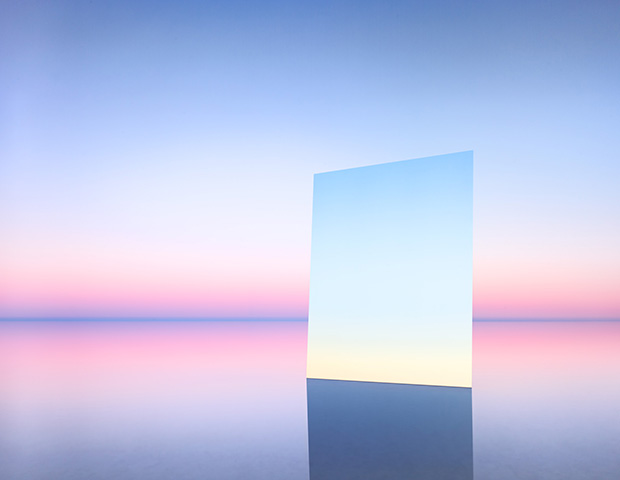 Hypnotic Photos of a Salt Lake Reflected in Mirrors - Feature Shoot