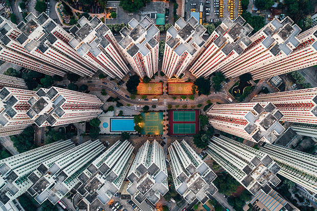 The Architecture of Hong Kong As You've Never Seen It Before