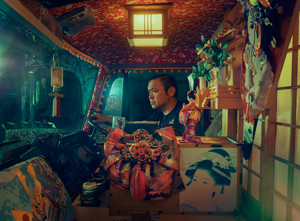 Magical Photos of Japan's 'Decorated Truck' Subculture