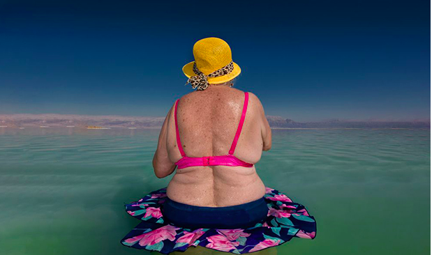 Ethereal Photos from the Shores of the Dead Sea