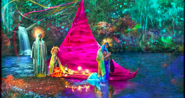 "David LaChapelle's Stunning ""Letter to the World"" - Feature Shoot"