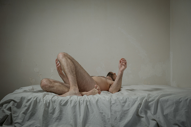 Vulnerable Portraits of Men in the Nude