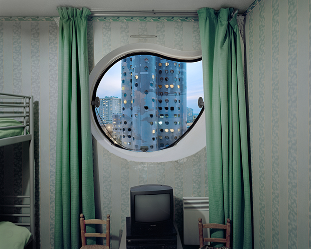 Futuristic Photos from High-Rise Towers in the Paris Suburbs
