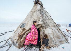 Lena, the pregnant Nenets woman Alegra documented