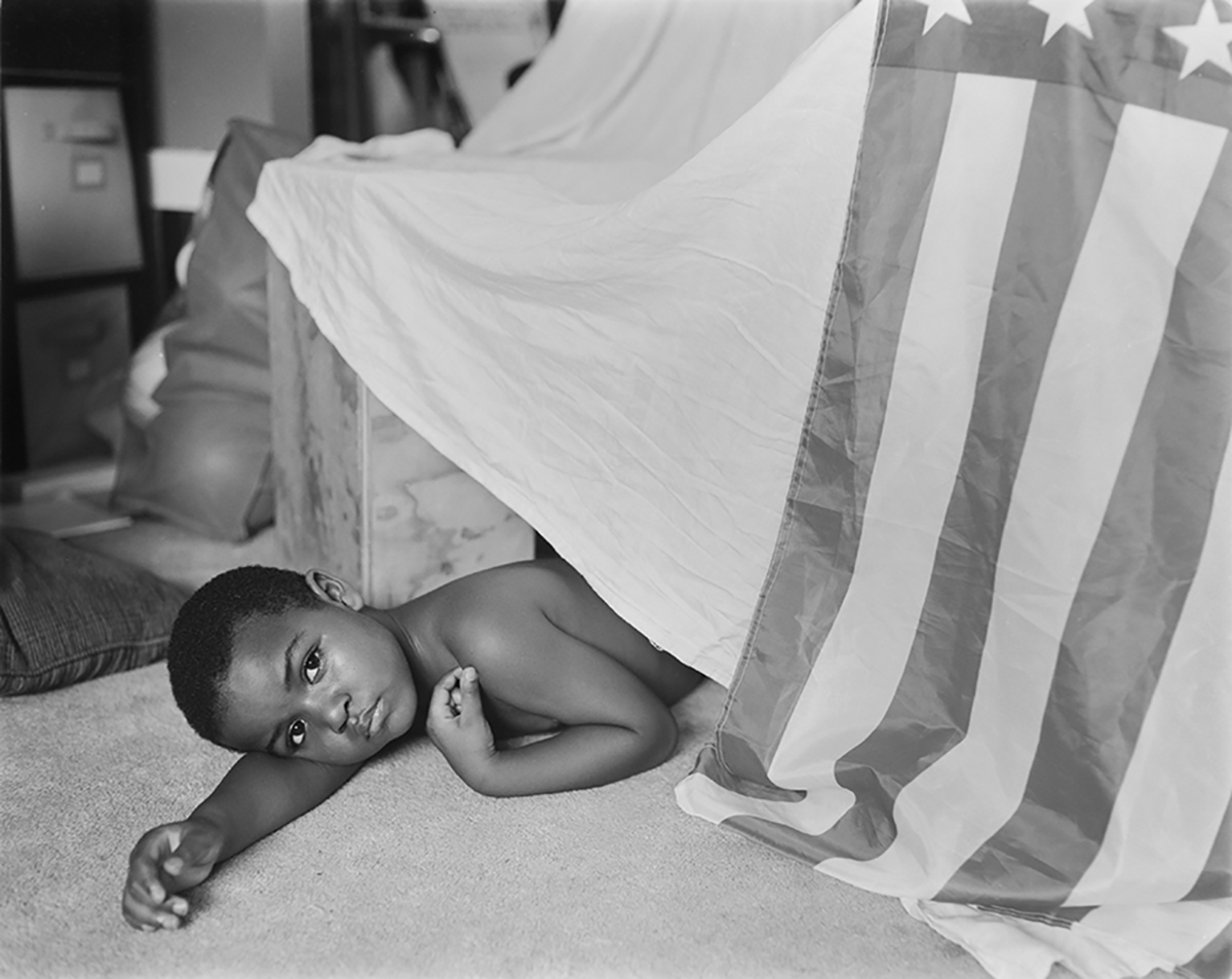 A Black Father's Homage to His Young Son